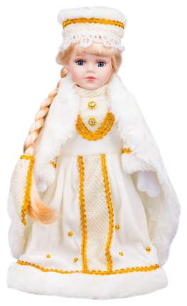 Кукла новогодняя Яркий праздник Снегурочка Саша 30 см