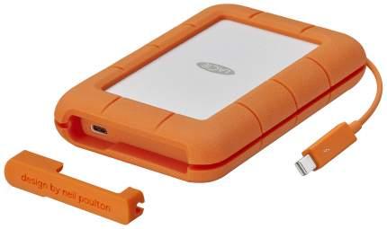 Внешний SSD накопитель LaCie 1TB White/ Orange (STFS1000401)