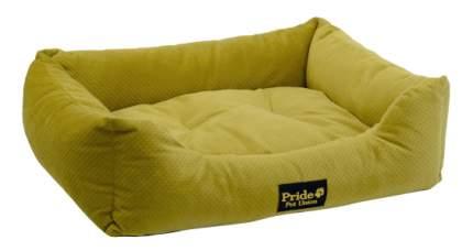 Лежанка для кошек и собак PRIDE 50x60x18см зеленый