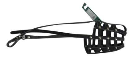 Намордник Аркон кожаный, размер 30 см, черный