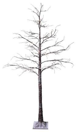 Световое дерево Star trading Tobby tree with snow Коричневое 210 см