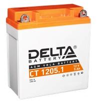 Аккумулятор автомобильный Delta CT 1205.1 5 Ач