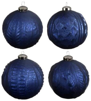 Набор елочных игрушек Kaemingk 060119 Синий