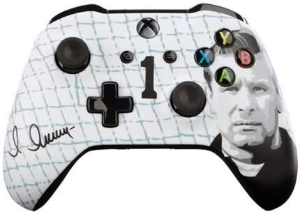 Геймпад для игровой приставки Xbox One Microsoft 6CL-00002 40067153 Черный, белый