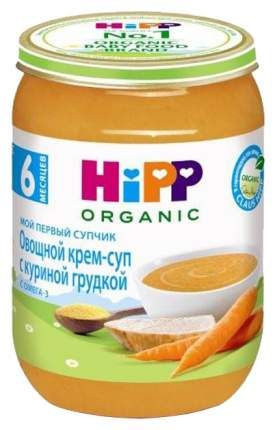 Суп Hipp Овощной с куриной грудкой с 6 мес. 190 г