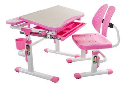 Парта детская Mealux EVO-05 розовый