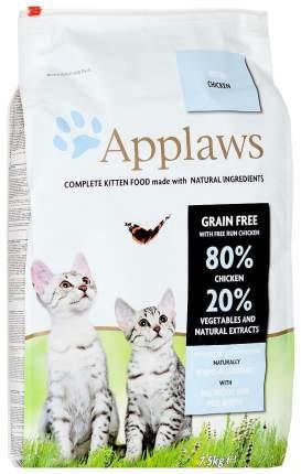 Сухой корм для котят Applaws Беззерновой, с курицей и овощами, 7,5кг