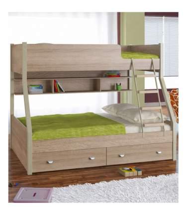 Двухъярусная кровать Golden Kids 3 дуб сонома