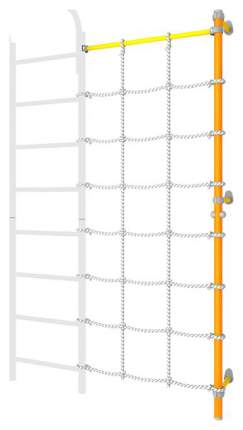Комплект с канатным лазом Romana пристенный ДСКМ 1С-8.18-45 Оранжевый