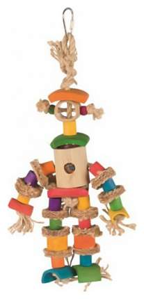 Игрушка для птиц Trixie Bamboo man, размер 25см,