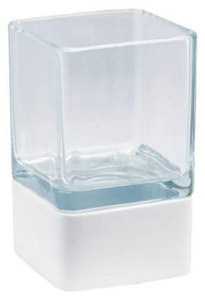 Стакан для зубных щеток Aquanova Ona Белый/Прозрачный