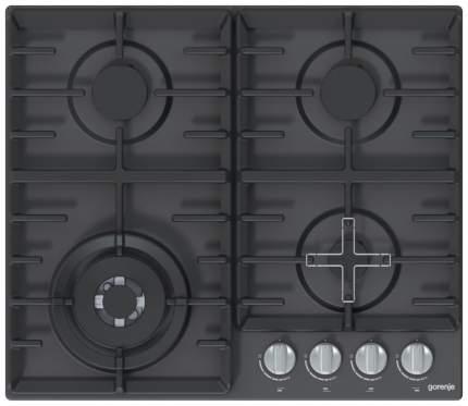 Встраиваемая варочная панель газовая Gorenje GW641ZMB Black