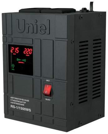 Стабилизатор напряжения Uniel RS-1/1500WS Черный