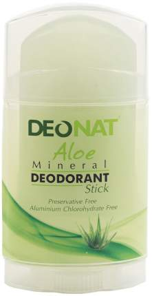 Дезодорант DeoNat С травами и соком алоэ 100 г