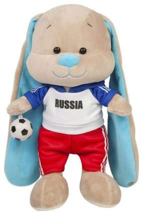 Мягкая игрушка Jack&Lin Зайчик Жак Футболист с Мячом 25 см