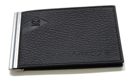 Зажим для банкнот из рельефной кожи Mazda Relief Leather Money Clip, Black, 830077550