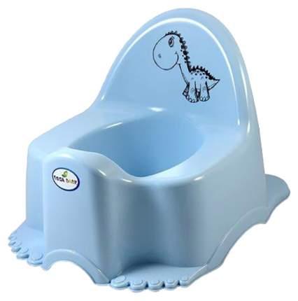 """Горшок детский Tega Baby """"Динозавр"""", голубой"""