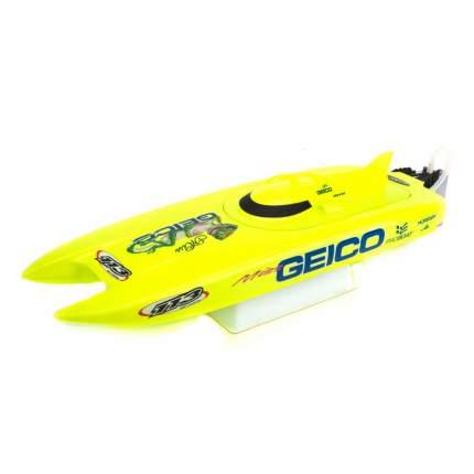 Радиоуправляемый катер ProBoat Miss Geico 17 Brushed RTR