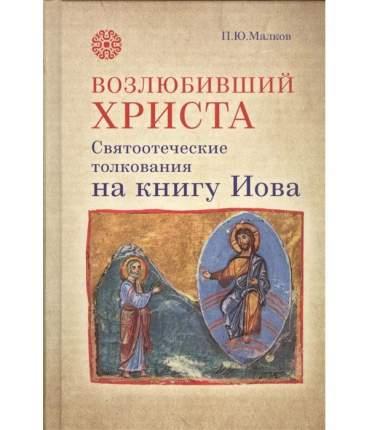 Книга Возлюбивший Христа. Святоотеческие толкования на книгу Иова