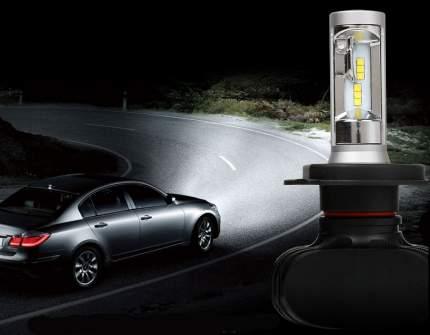 Светодиодные лампы Vizant D5 цоколь H27 с чипом csp 4000lm 5000k  (цена за 2 лампы)