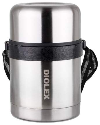 Термос Diolex DXF-1000-1 1 л серебристый