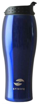 Термокружка STINGER, 0,4 л, синий