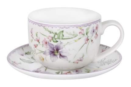 Чашка с блюдцем Селена 400 мл Anna Lafarg 56957