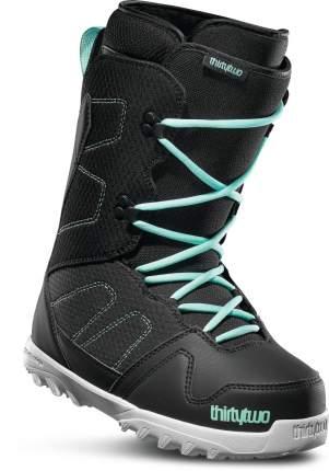 Ботинки для сноуборда ThirtyTwo Exit W's 2020, black/mint, 23.5