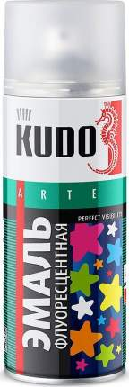 Эмаль KUDO флуоресцентная белая