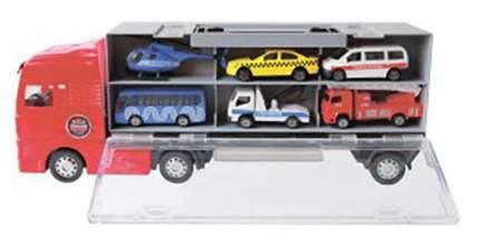 Машина спецслужбы Пламенный мотор Автовоз с машинами 870356
