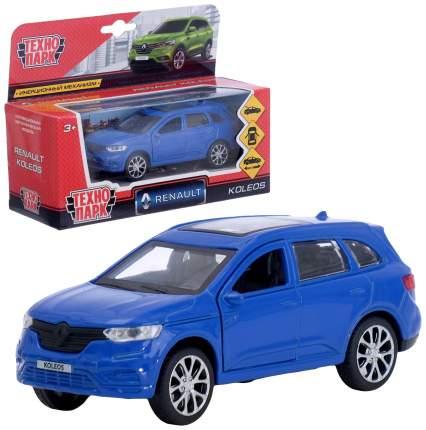 Машина металлическая Renault koleos, 12 см, , инерционная, цвет синий Технопарк