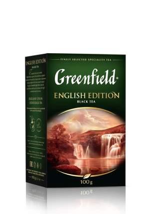 Чай черный Greenfield листовой english edition 100 г