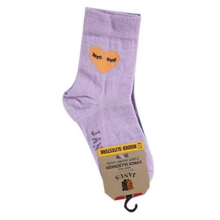 Комплект носков 2 пары Janus, цв. сиреневый, 25-29 р-р