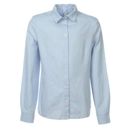 Блузка UNONA D'ART, цв. голубой, 146 р-р