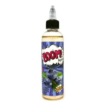 Жидкость для электронных сигарет Boom ледяная черника 120 мл  0 мг