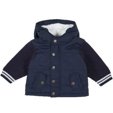 Куртка Chicco для мальчиков р.86 цв.темно-синий