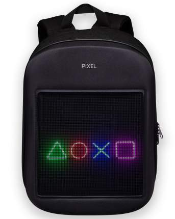 Рюкзак с LED-дисплеем PIXEL ONE - BLACK MOON чёрный