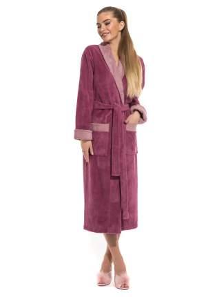 Женский бамбуковый халат Belette Peche Monnaie 735, розовато-лиловый, XXL