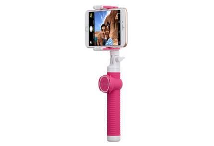 Монопод Momax Selfie Hero 100 см розовый