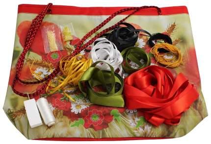 Набор для вышивки лентами и бисером Danko Toys «My creative bag. Маки»