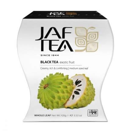 Чай Jaf Tea Exotic Fruit черный листовой с саусепом 100 г