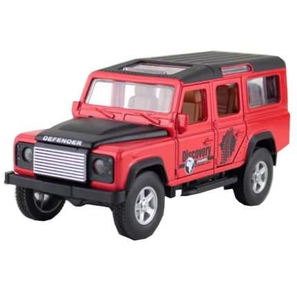 Машина инерционная Cars Джип RENG DEF красный, 14.6 см