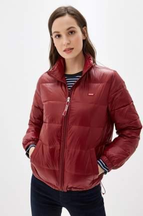 Куртка женская Levi's 7959000030 бордовая XS
