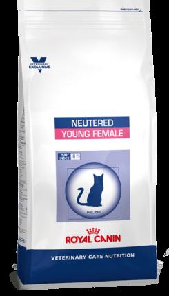 Сухой корм для кошек ROYAL CANIN Neutered Young Female, для стерилизованных до 7 лет,3,5кг