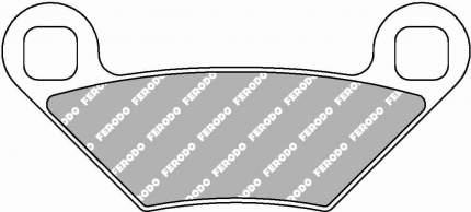 Тормозные колодки задние Ferodo FDB2276SG для мотоциклов