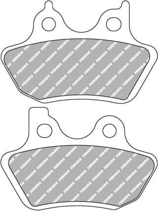 Тормозные колодки передние/задние Ferodo FDB2097P для мотоциклов