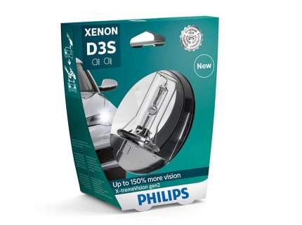 Лампа D3s 42v(35w) X-Tremevision  150% (Gen2) 1шт. В Пласт.Коробке Philips арт. 42403XV2S1
