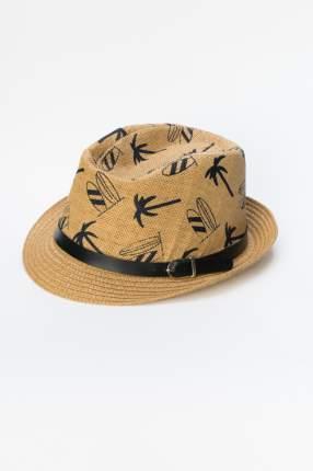 Шляпа мужская Modis M191A01006 коричневая 58