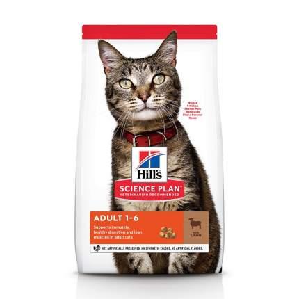 Сухой корм для кошек Hill's Science Plan Adult, ягненок, 3кг