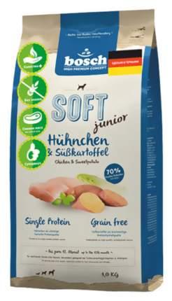 Мягкий корм для щенков Bosch Soft Junior, курица и батат, 1кг